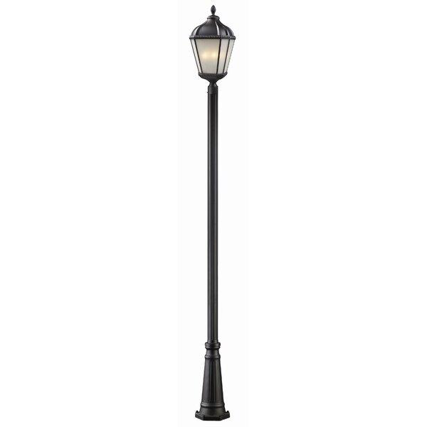 Bridgewater Outdoor 1-Light Post Light by Andover Mills