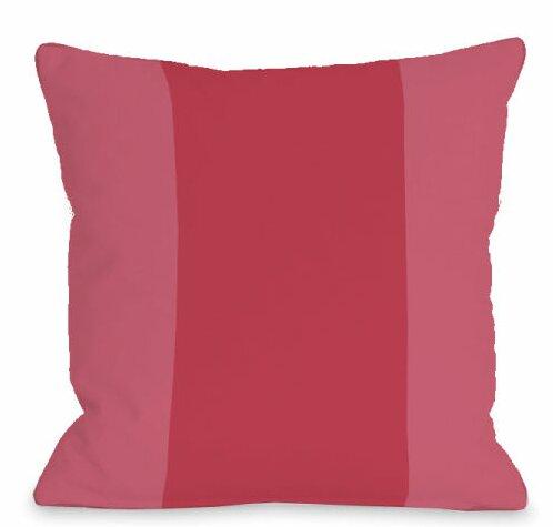 Block Outdoor Throw Pillow by One Bella Casa