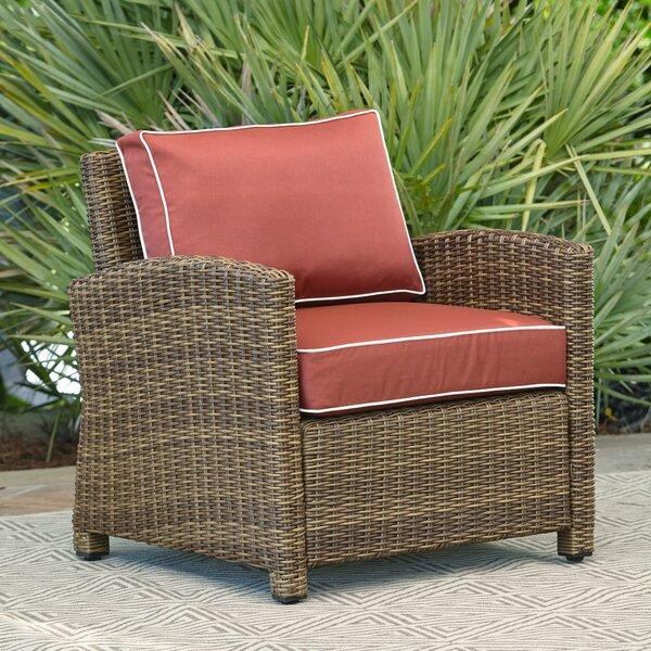 Lawson Wicker Coffee Table: Birch Lane™ Lawson Chair With Cushion & Reviews