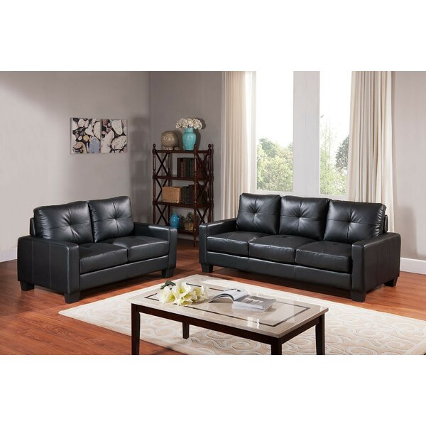 Lucious 2 Piece Living Room Set by Ebern Designs