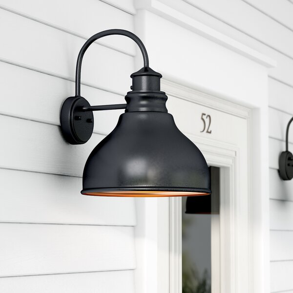 Lavardin 1-Light Outdoor Wall Lantern by Laurel Foundry Modern Farmhouse