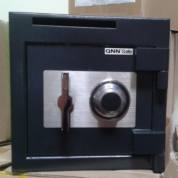 Dial/Combination Lock Commercial Depository Safe 1.2 CuFt by QNN Safe