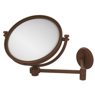 Buying Extend 2X Magnification Wall Mirror with Groovy Detail By Allied Brass