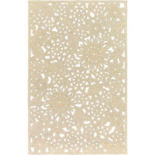 Camille Light Gray Area Rug by Ophelia & Co.