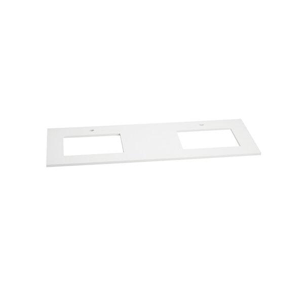 TechStone™ 62 Double Bathroom Vanity Top by Ronbow