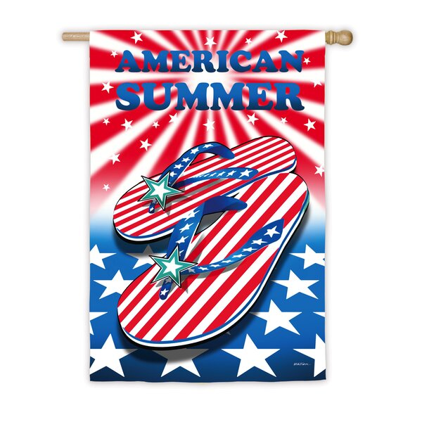 American Summer Vertical Flag by Evergreen Flag & Garden
