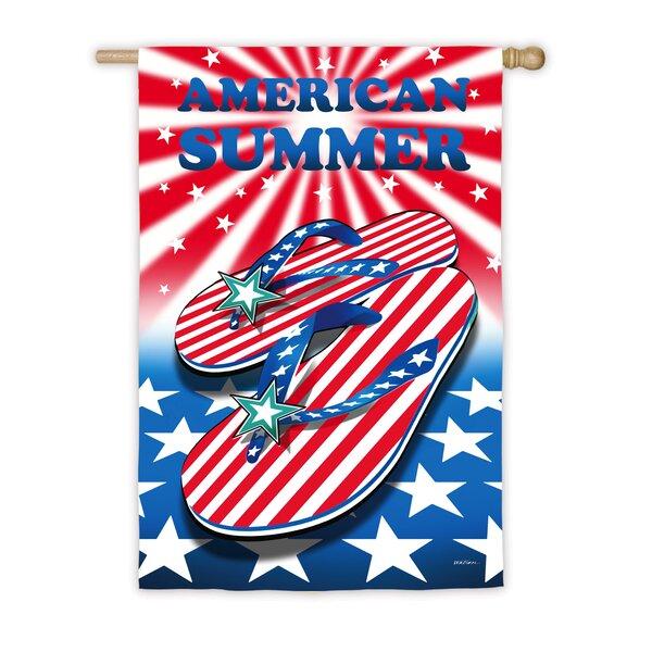American Summer Vertical Flag by Evergreen Flag & Garden