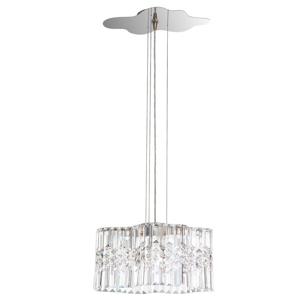 Selene 2-Light Crystal Chandelier by Schonbek