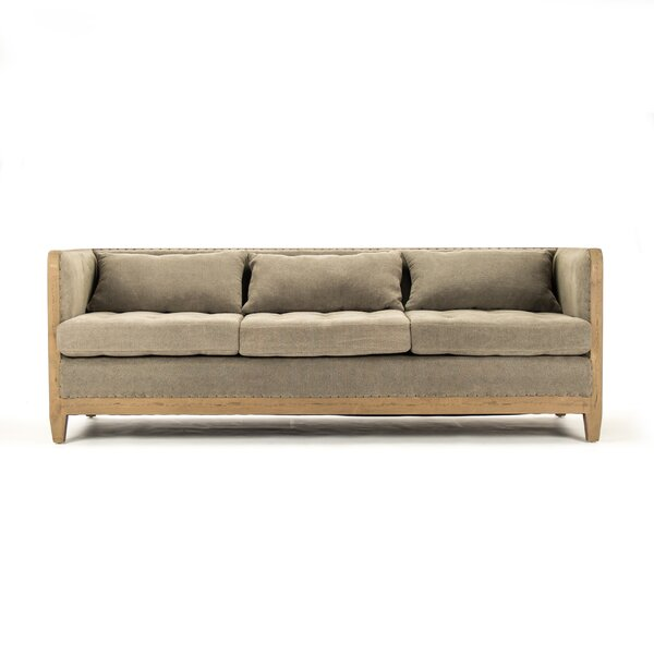 Vert Chesterfield  Sofa By Zentique