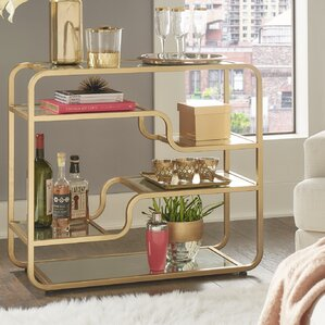 Dacia Mirror Bar Cart by Willa Arlo Interiors