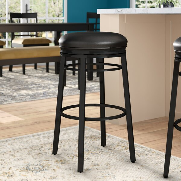 Lafferty 30 Swivel Bar Stool by Red Barrel Studio