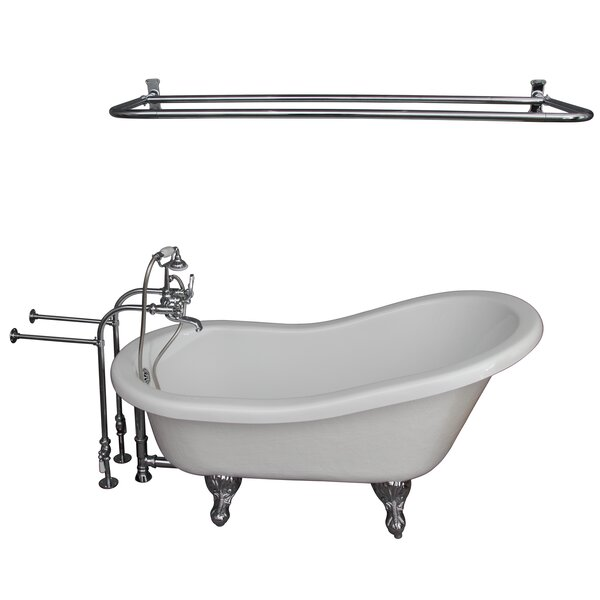 60 x 29.5 Soaking Bathtub Kit by Barclay
