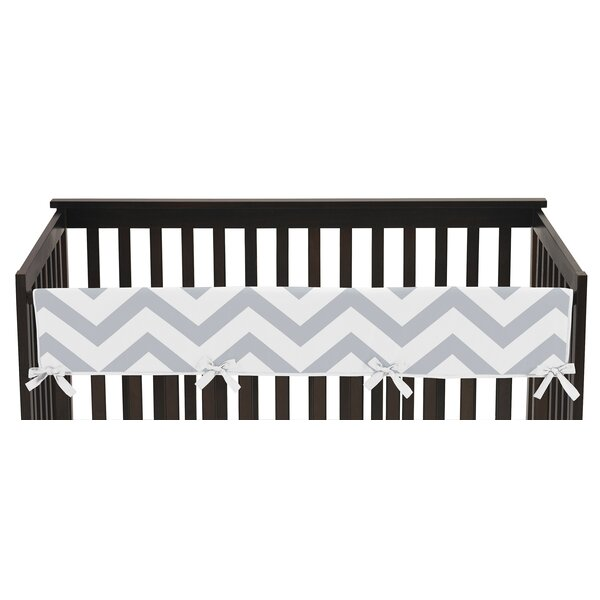 Chevron Long Crib Rail Guard Cover by Sweet Jojo Designs