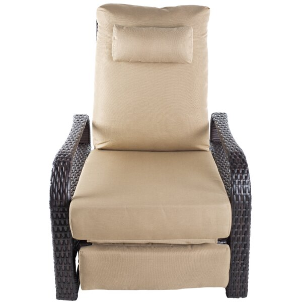 Recliner Patio Chair with Cushions by MIX