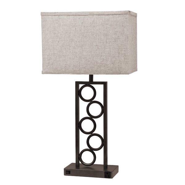 Bromyard Circle 29 Table Lamp (Set of 4) by Ebern Designs