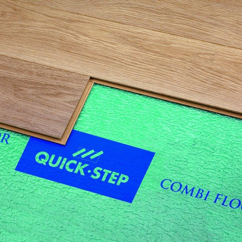 Quick Step Combi Floor Underlayment Pad 100 Sq Ft Roll