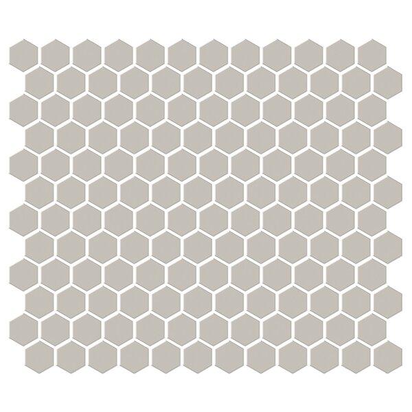 Shape 1 x 1 Porcelain Mosaic Tile in Brown by Emser Tile
