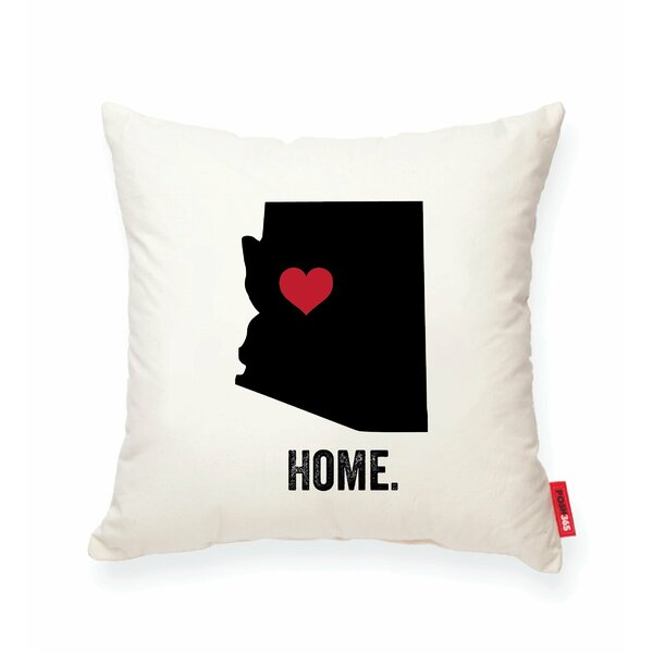 Pettry Arizona Cotton Throw Pillow by Wrought Studio