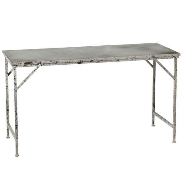 Archer Distressed Galvanized Coffee Table by Gracie Oaks