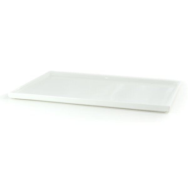 White Tie Stackable Combo Plate by Tannex