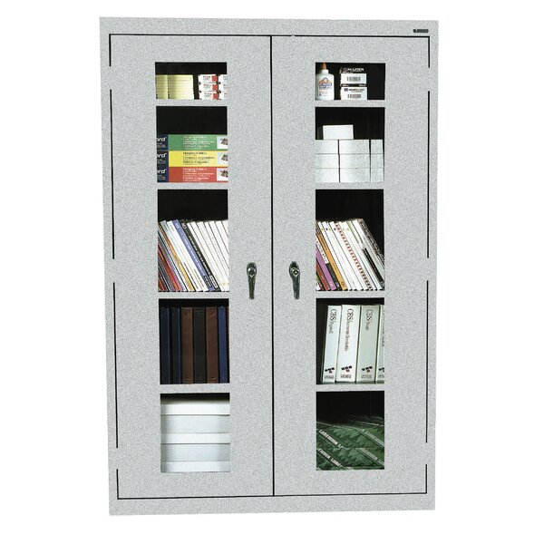 Classic Series 2 Door Storage Cabinet by Sandusky Cabinets