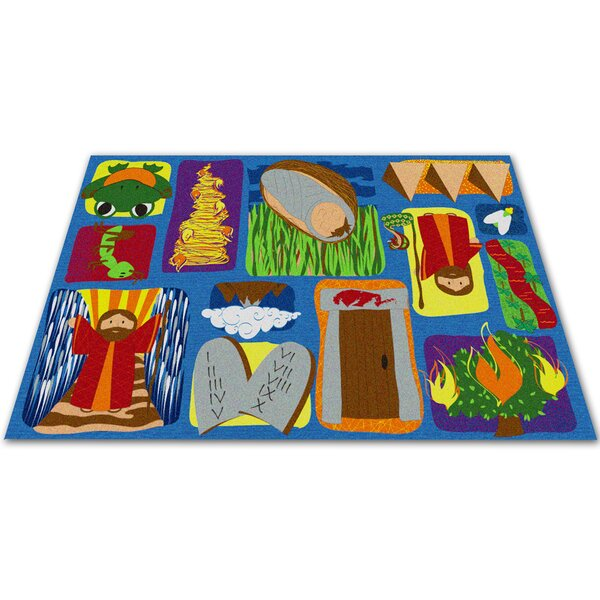 Moses Sunday School Kids Rug by Kid Carpet