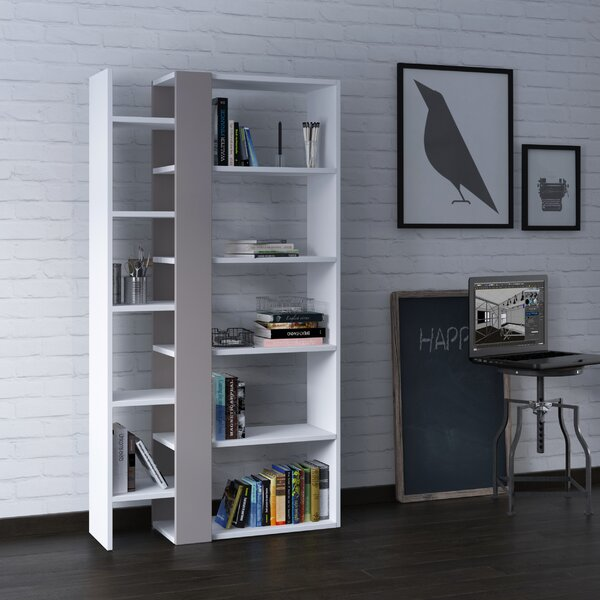 Bentonville Geometric Bookcase By Brayden Studio