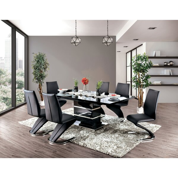 Meacham 7 Piece Extendable Dining Set by Orren Ellis