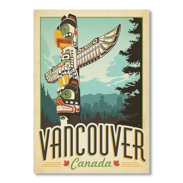 Vancouver Vintage Advertisement by East Urban Home