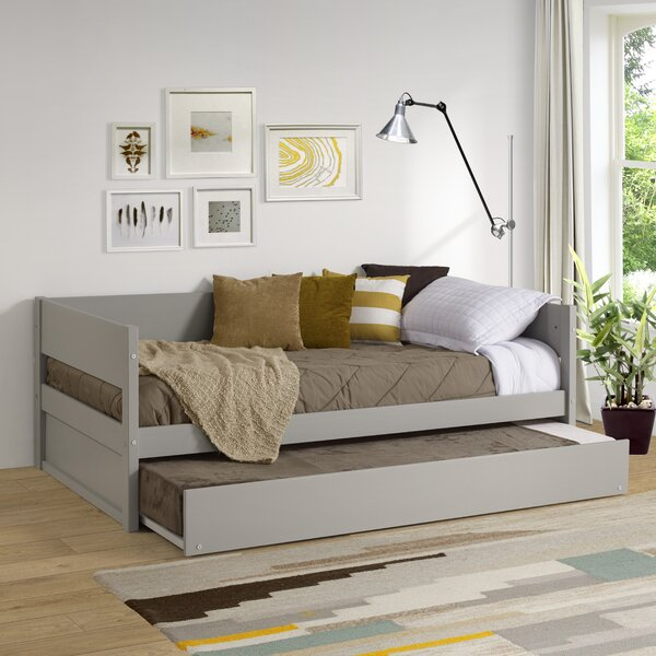 Kareem Wood Panel Twin Daybed With Trundle By Red Barrel Studio