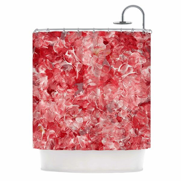 Ebi EmporiumBloom On! Abstract Shower Curtain by East Urban Home