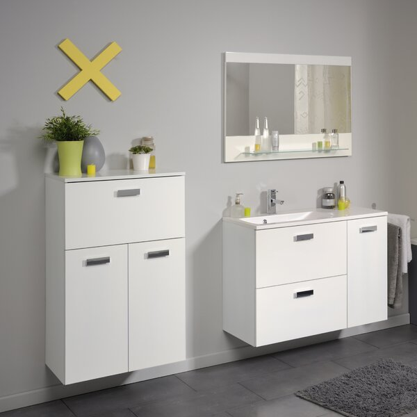 Studio II 23.6 W x 38.6 H Wall Mounted Cabinet by Parisot