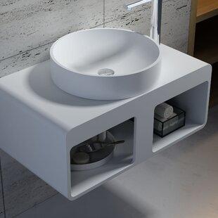 Top Reviews Stone Circular Vessel Bathroom Sink By InFurniture