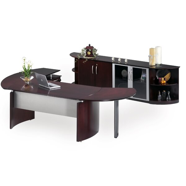 Napoli Series 2-Piece Desk Office Suite by Mayline Group