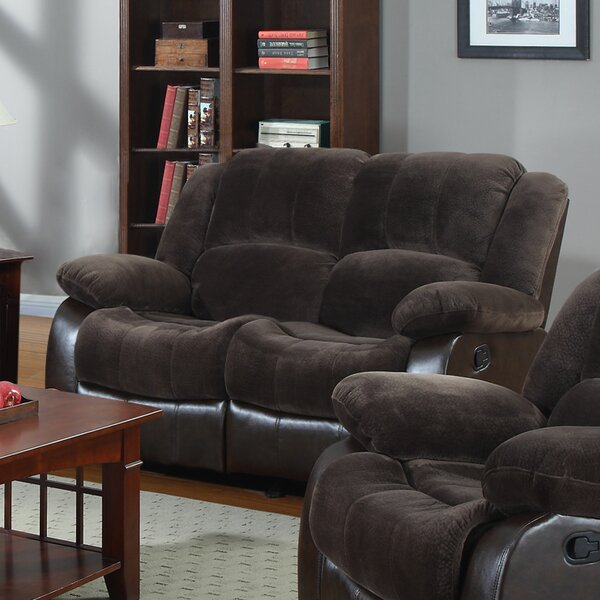 New High-quality Perrysburg Reclining Loveseat by Winston Porter by Winston Porter