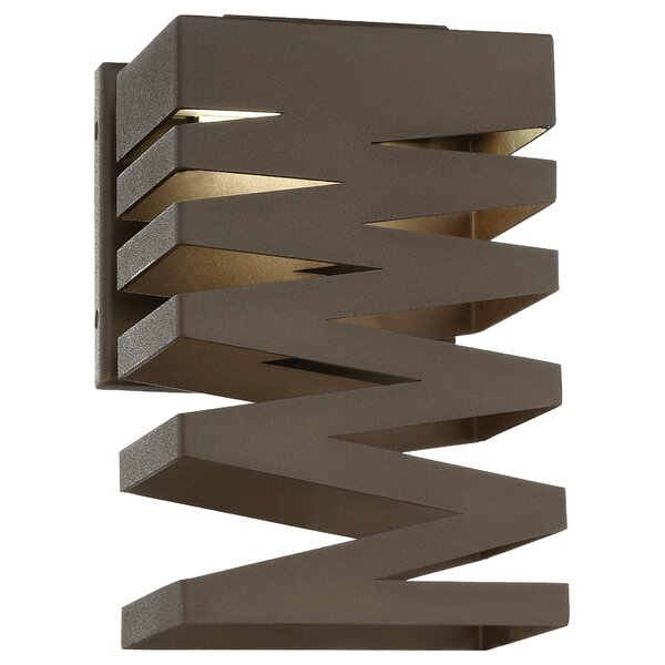 Siemens LED Outdoor Sconce by Brayden Studio
