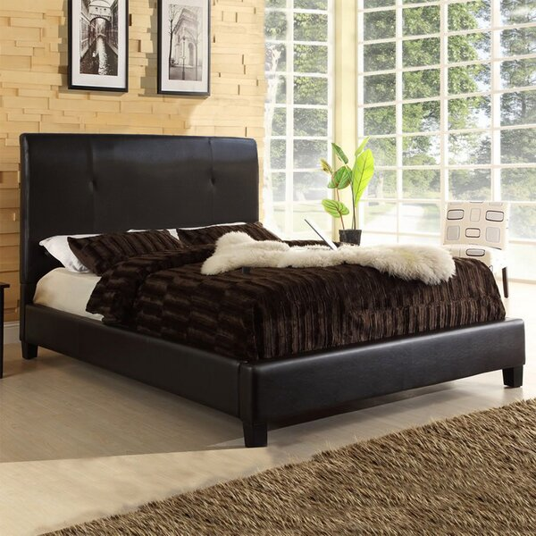Casares Upholstered Platform Bed by Wrought Studio
