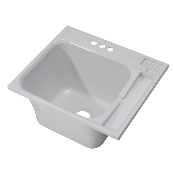 25 x 22 Drop-In Laundry Sink by Cashel