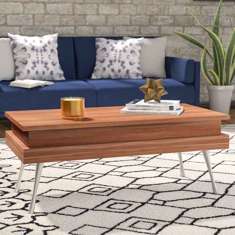 Delightful Cornelia Lift Top Coffee Table
