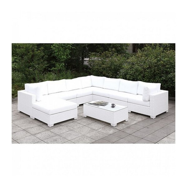 Bossley 2 Piece Sectional Seating Group With Cushions By Brayden Studio by Brayden Studio Cool