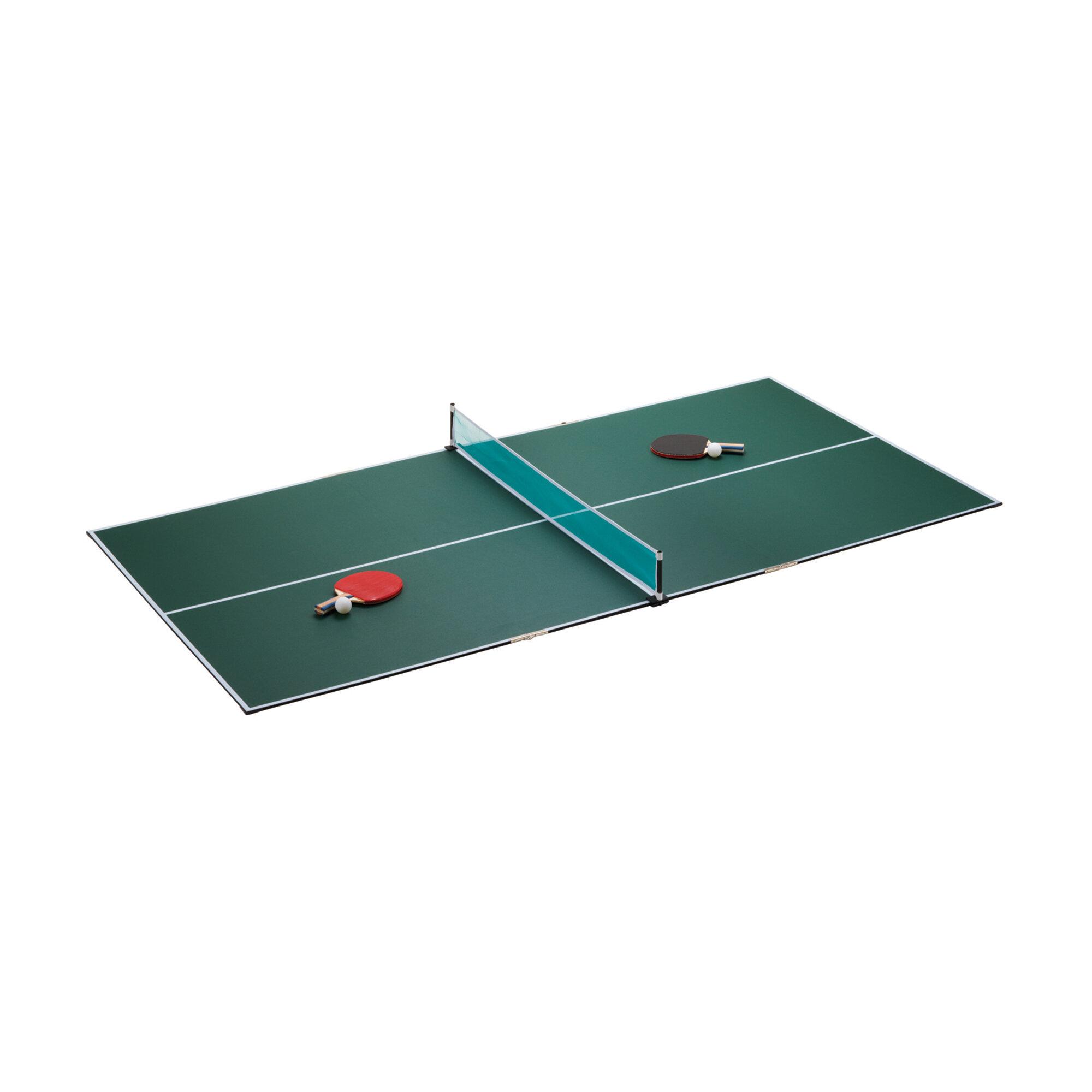 GLD Products Fat Cat Portable 7u0027 Table Tennis Conversion Top U0026 Reviews |  Wayfair