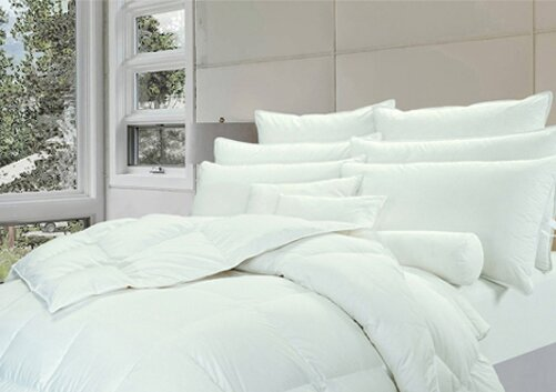300TC Tencel Lightweight Down Comforter Blanket by Highland Feather