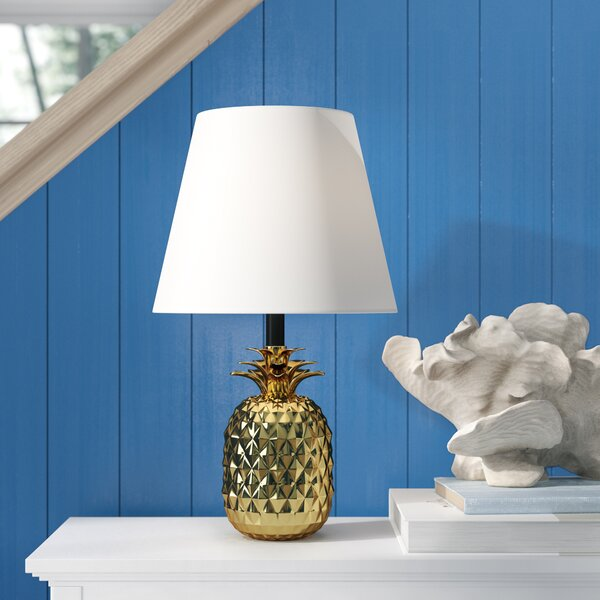 Martel Shiny Pineapple Ceramic 19 Table Lamp by Bay Isle Home