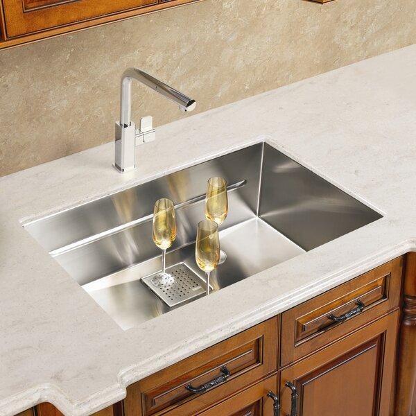 Peak 23 L x 18 W Undermount Kitchen Sink