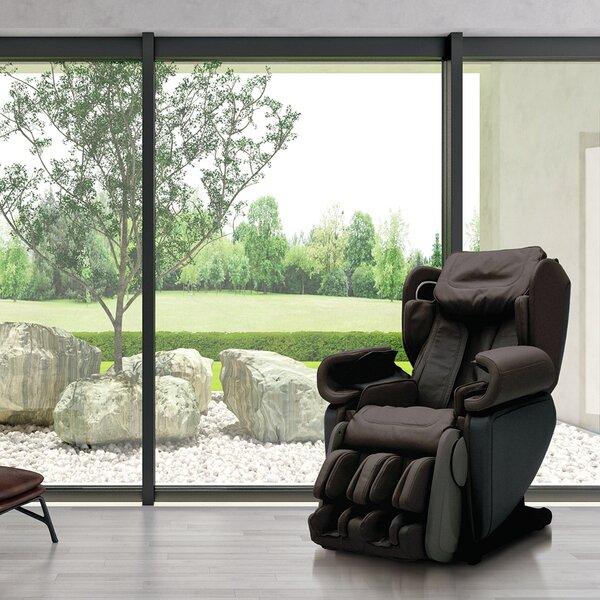 Wellness Kagra 4D Premium Reclining Reclining Heated Full Body Massage Chair With Ottoman By Synca Wellness