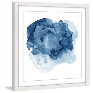 'Ephemeral Liquid' Framed Painting Print by Marmont Hill