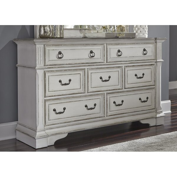 Ginyard 7 Drawer Double Dresser by Ophelia & Co.