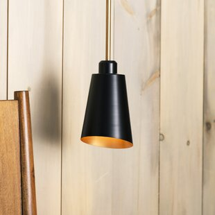 Comparison Valmonte 1-Light Cone Pendant By Langley Street