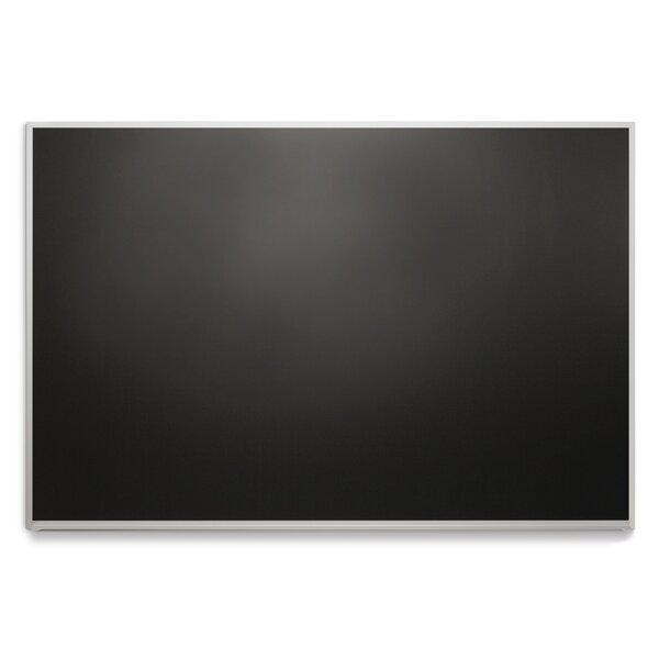 DTS Trim No Maprail Blade Tray Wall Mounted Magnetic Chalkboard by Platinum Visual Systems