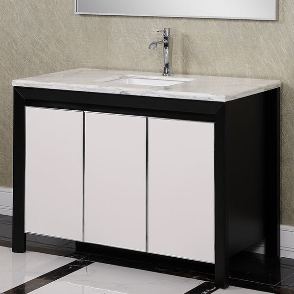WB 47 Single Bathroom Vanity Set by InFurniture